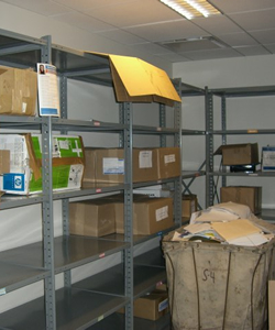 Corporate Office Storage Room