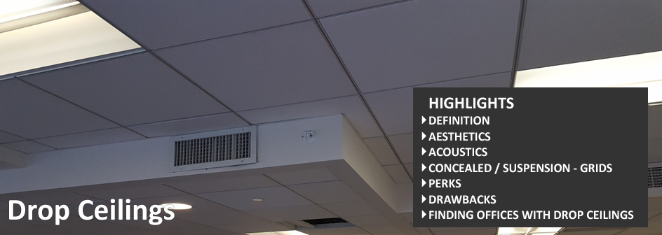 Drop Ceiling Tile Commercial Real Estate Definition Footer