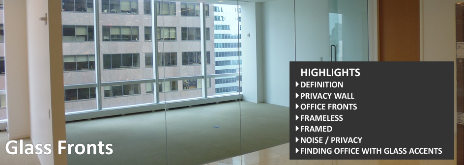 Glass Fronts Commercial Real Estate Definition Footer