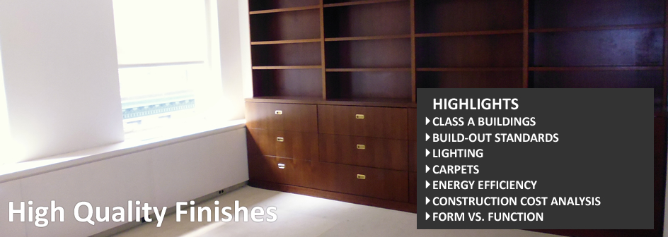 High Quality Finishes Information