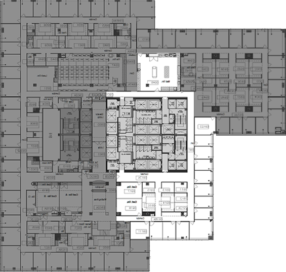 Office Floor Plans for City Hall Sublet Office