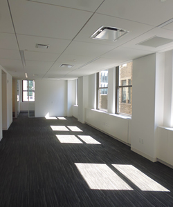 Open Floor Plan Commercial Space