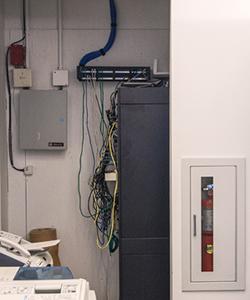Telecommunications Closet ...