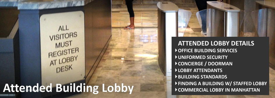 Attended Building Lobby Footer