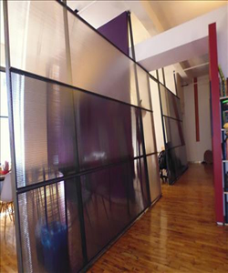 Commercial Loft With Glass Partitions