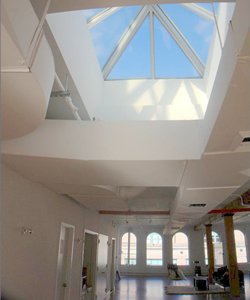 Commercial Loft With Skylight