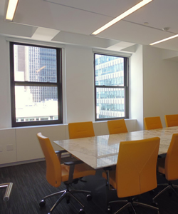 Conference Room With Operable Windows