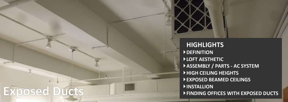 Exposed Ducts Commercial Real Estate Definition Footer