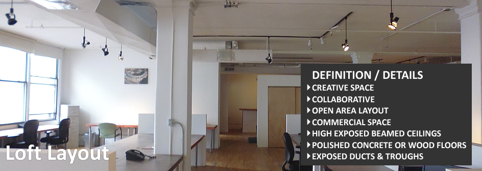 Loft Layout Real Estate Information Footer