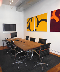 Meeting Room Within Office Space