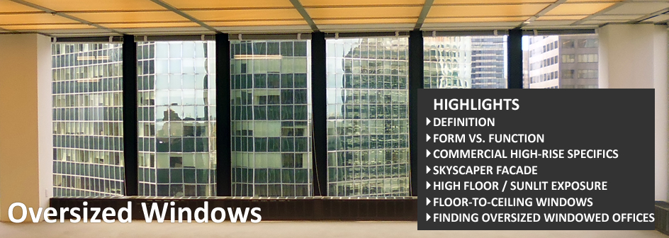 Oversized Windows Real Estate Definition