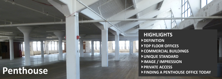 Penthouse Commercial Real Estate Definition Footer