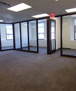 Private Offices With Glass Fronts