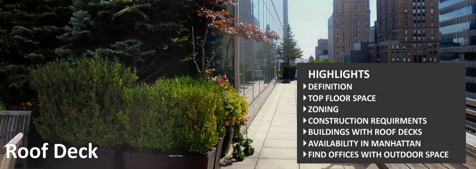 Roof Deck Commercial Real Estate Definition Footer